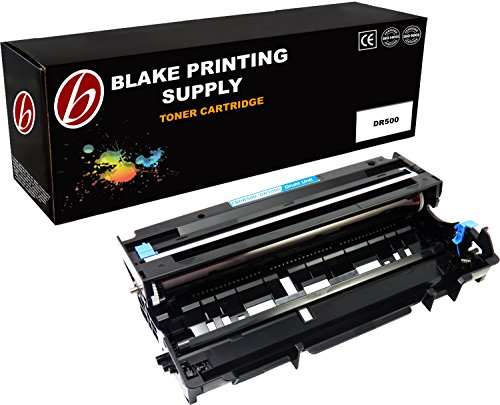Blake Printing Supply 1 Compatible Laser Drum Unit Replacement for Brother DR500 DCP-8020 DCP-8025D DCP-8025DN HL-1650 HL-1650LT HL-1650N HL-1650N+ HL-1850 HL-1870n HL-5040 HL-5050 HL-5070n HL-8420