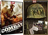 War Classic Movie Collection - 50 Combat Classics and 80 Historical Documentaries of Vietnam War 'That Was Nam Collection' Bundle