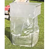 ESD Alliance Inc Trash Bag Holder - Multi-Use Bag Buddy Support Stand (39-45 Gallon Bags)