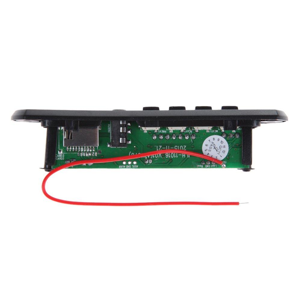 mp3,/WMA; modulo audio wireless per auto 12 V Demiawaking 1 modulo di decodifica per USB radio