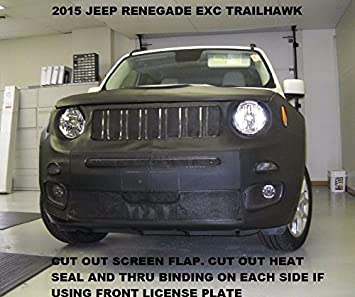 Lebra Front Mask Cover Bra Fits 2019 Jeep Cherokee Exc.Trailhawk 19