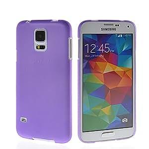Prayker® ultrafino Delgado Carcasa Funda Caso Tapa Cover Case para Samsung Galaxy S5 I9600 Morado