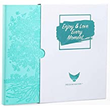 Deluxe Law of Attraction Mar 2018-2019 Planner - To Increase Productivity & Happiness - Weekly Planner, Organizer & Gratitude Journal (2018-2019 March Dated, Soft Turquoise)
