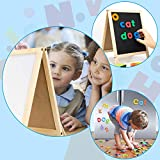 INNOCHEER Magnetic Letters and Numbers with Easel