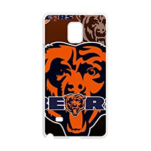 Chicago Bears Design Fashion Comstom Plastic case cover For Samsung Galaxy Note4