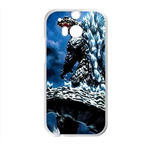 HUAH Enormous Gojirasaurus Cell Phone Case for HTC One M8
