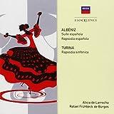 Albeniz: Suite española, Rapsodia española/Turina:Rapsodia sinfonica