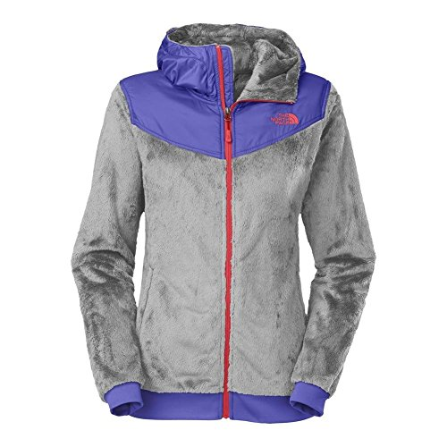 Womens Oso Hoodie Jackets (The North Face Oso Hoodie Womens Mid Grey/Starry Purple M)