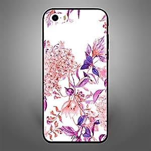 iPhone 5S Pink purple flower pattern
