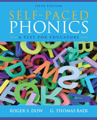Self Paced Phonics:Text For Educators
