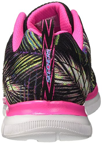 Noir Tropical Appeal Basses Sneakers Fille 2 Skechers 0 Breeze Rose Bkmt zgxaqad