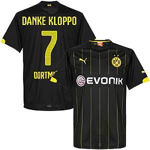 Borussia Dortmund Away Danke Kloppo Jersey 2014 / 2015 (Fan Style Printing) - S