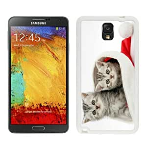 Customized Design Christmas Cat White Samsung Galaxy Note 3 Case 15