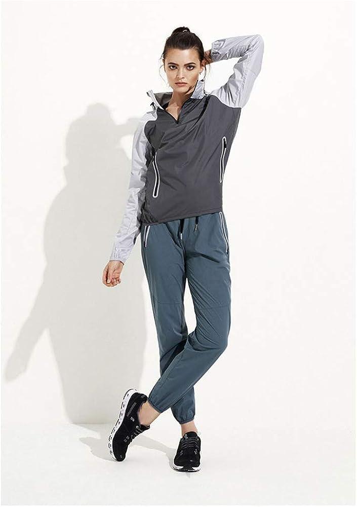MHDE Pantalons De Survêtement pour Femmes Vêtements De Yoga pour Femmes Jogging Rapide à Séchage Rapide Respirant Fitness De Plein Air Grey