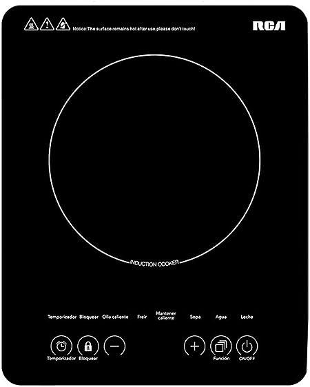 RCA Parrilla de inducción eléctrica RC-12A3: Amazon.com.mx: Hogar y Cocina