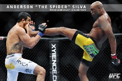 UFC-Anderson Silva Standard Sports Poster Print, 24 by 36