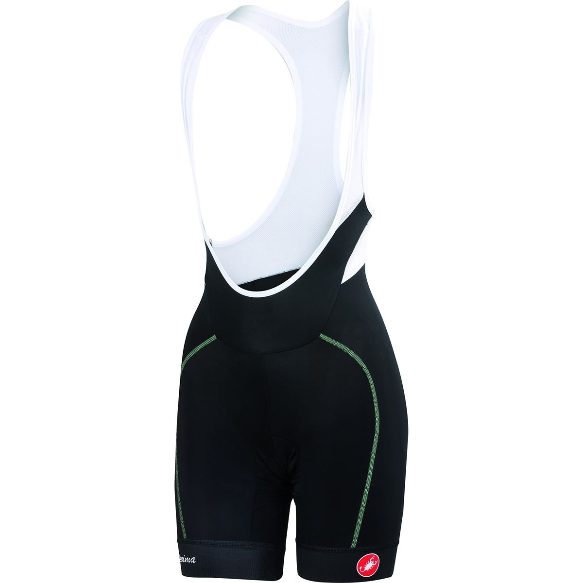 Castelli Cycling Velocissima Women's Bib Short Black/Pastel Mint Small by Castelli (Image #1)