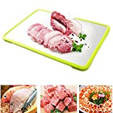 Lesirit Magical Thaw Defrosting Tray-Thaws Frozen Food Faster (Green)