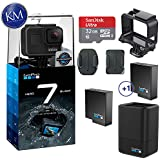 $359 Get GoPro Hero 7 (Black) Action Camera w/Dual Battery Charger and Extra Battery Bundle