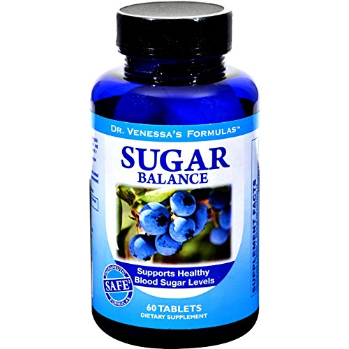 Dr. Venessa's Sugar Balance - 60 Tablets Diabetic Support Formula 60 Tablets