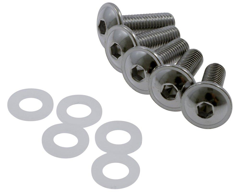 Verkleidungsschrauben, Schrauben Verkleidung M5x16 Sortiment, Motorrad PW