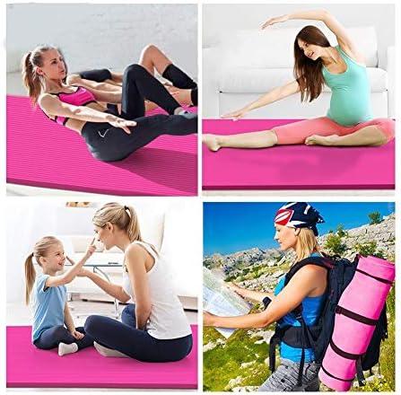 Yoga mat スーパーワイド160cmのスーパーロング200センチメートルスーパー太い15ミリメートル高級ヨガマット workout
