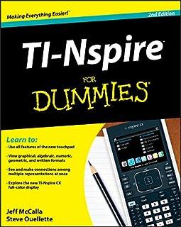 TI-Nspire For Dummies (1118004663) | Amazon price tracker / tracking, Amazon price history charts, Amazon price watches, Amazon price drop alerts