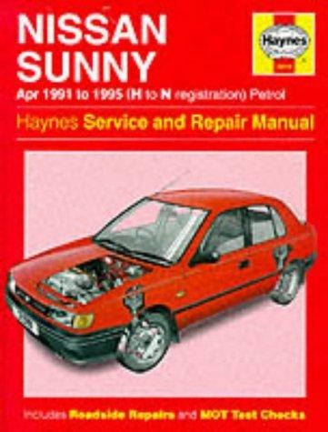 haynes nissan sunny 91 95 service manual pub