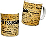 Sweet Gisele Pittsburgh All Over Print Themed Coffee Mug - 11 Fluid Ounces