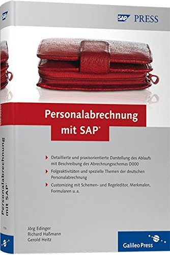 Personalabrechnung mit SAP (SAP PRESS)