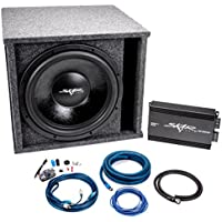 Skar Audio Single 15 VVX-15v3 1200 Watt Complete Bass Package - Includes Subwoofer in Ported SPL Box with Amplifier