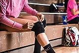 Mizuno LR6 Volleyball Kneepad, Black, Medium