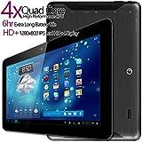 G-Tab Iota Quad Core Android Tablet PC [10.1 Inch IPS, 16GB, Wi-Fi] (Black)