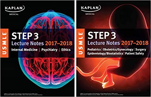 USMLE Step 3 Lecture Notes 2017-2018: 2-Book Set: Kaplan Medical