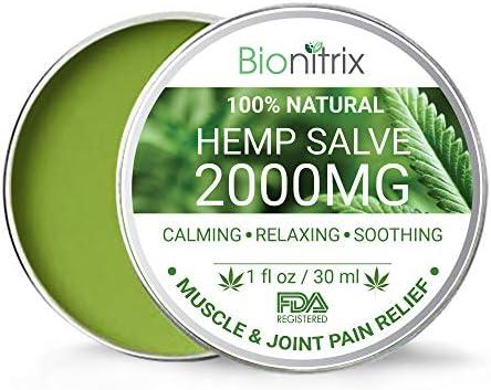 Bionitrix Hemp Oil Salve Inflammation product image
