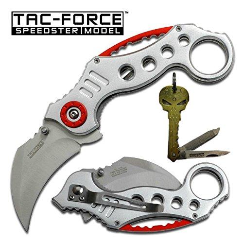 TAC FORCE TACTICAL FOLDING KEYCHAIN