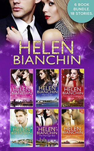 book cover of The Helen Bianchin Collection