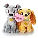 Hallmark VTD1510 Disney Doggone Sweet Lady and the Tramp Stuffed Animal