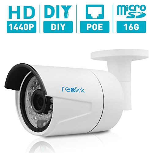 Reolink 4MP  Super HD PoE Camera w/SD Card Outdoor/Indoor Vi