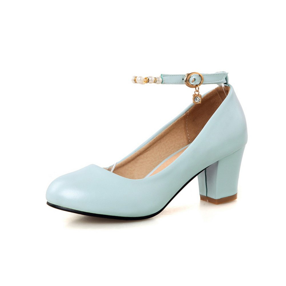 AdeeSu - Zapatos cerrados Para mujer 38 EU Azul