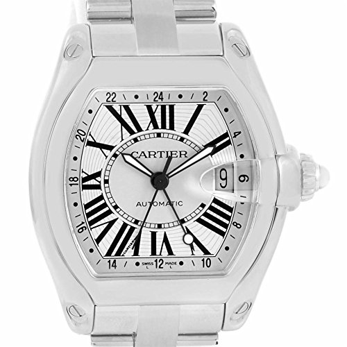 Cartier Roadster automatic-self-wind mens Watch W62032X6 (Certified Pre-owned)