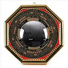 Bagua Luo board convex mirror Å¡ ( gold ) choose three size ( extra large 20cm / large 16cm / small 12cm) [ Feng - luck Goods / entrance / Figurines , decorations , mirror / luck ] ( extra large (20cm))