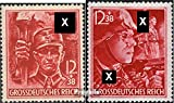 German Empire 909-910 (complete.issue.) unmounted mint / never hinged 1945 party formations (Stamps for collectors)