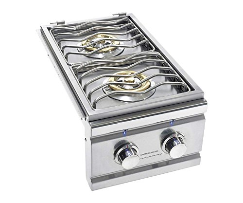 (Summerset TRL Series Built-in Double Side Burner (TRLSB-2-NG), Natural Gas )