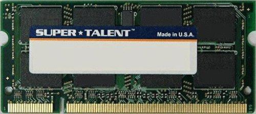 SUPER TALENT T800SA1G DDR2-800 SODIMM 1GB-128x8 Samsung Chip Notebook Memory