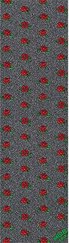 - Mob Grip Smell The Roses Small Black Black Griptape - 9