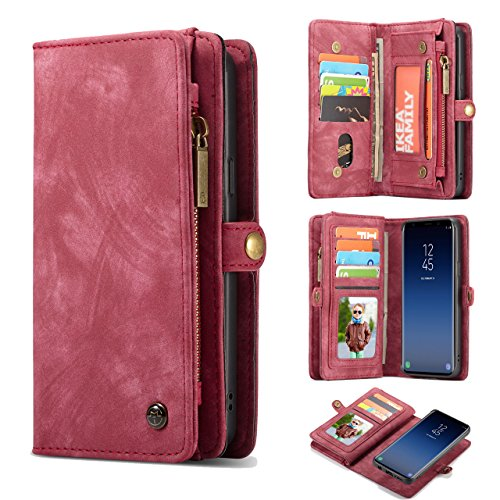 leather wallet case for samsung galaxy s9