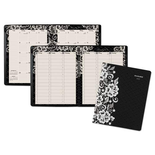 """AT-A-GLANCE 2019 Weekly & Monthly Appointment Book, 8-1/2"""" x 11"""", Large, Professional, Lacey (541-905) from AT-A-GLANCE"""