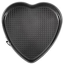 Wilton Excelle Elite Non-Stick Heart-Shaped Springform Pan, 9.5-Inch