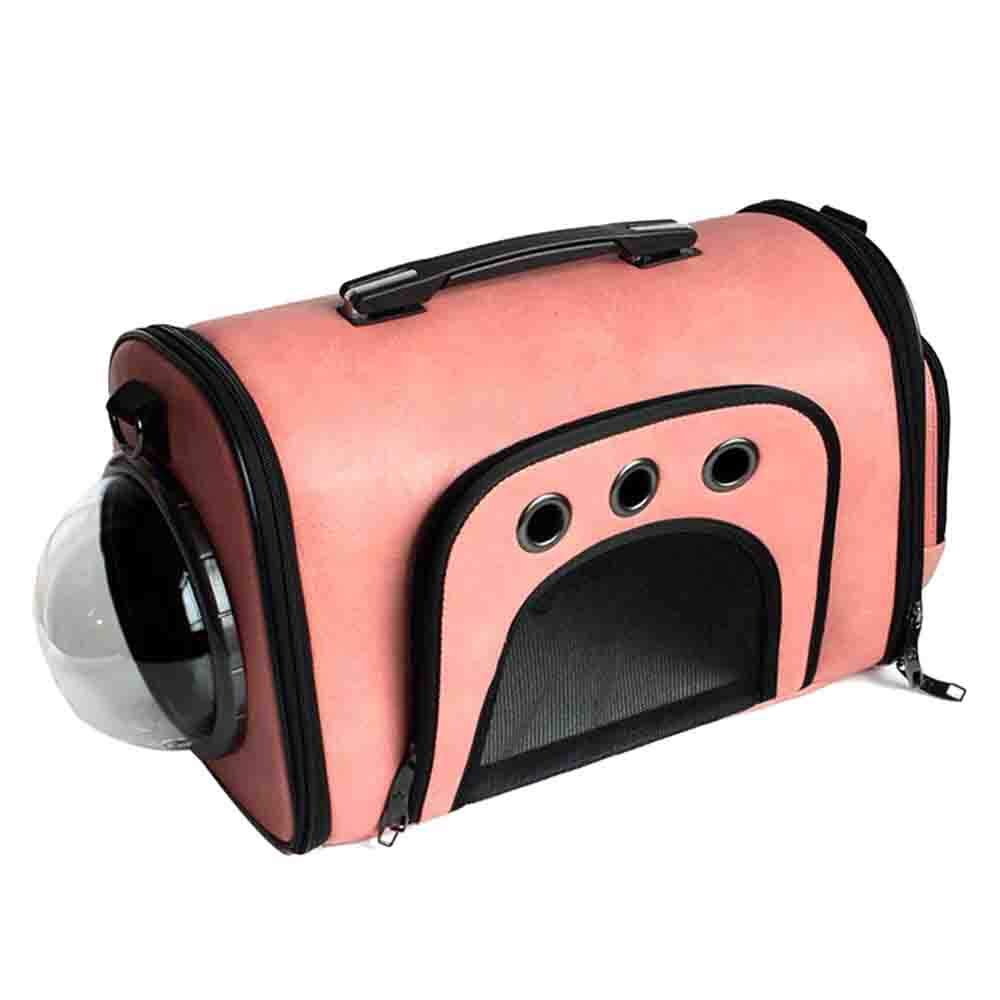 Pet Carriers Pet Tote Portable Space Caps Pet Bag Cat Backpack Transparent Pet Car Multifunction Household Kennel Outdoor Travel Dog Shoulder Bag